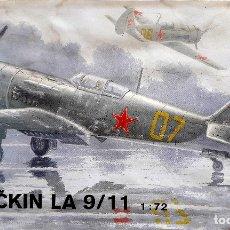 Maquetas: LAVOCHKIN LA-9/11 1/72 MPM. Lote 175630569