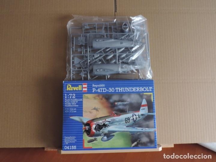 MAQUETA - REVELL 04155 REPUBLIC P-47D-30 THUNDERBOLT 1/72 (Juguetes - Modelismo y Radio Control - Maquetas - Aviones y Helicópteros)