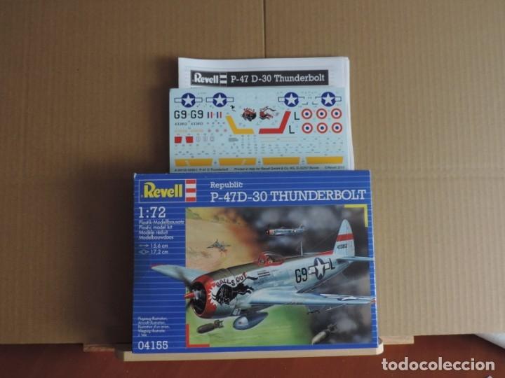 Maquetas: Maqueta - Revell 04155 Republic P-47D-30 Thunderbolt 1/72 - Foto 2 - 175693667