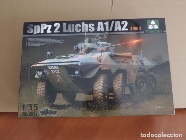 MAQUETA - TAKOM 2017 SP PZ 2 LUCHS A1/A2 1/35 (Juguetes - Modelismo y Radiocontrol - Maquetas - Militar)