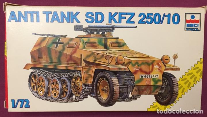 SD.KFZ 250/10 1:72 ESCI 8373 MAQUETA CARRO (Juguetes - Modelismo y Radiocontrol - Maquetas - Militar)