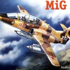 Maquetas: MIKOYAN-GUREVICH MIG AT 1/72 AMODEL. Lote 175846337