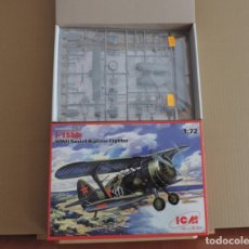 Maquetas: MAQUETA - ICM 72012 I-15BIS WWII SOVIET FIGHTER-BIPLANE 1/72. Lote 175864877