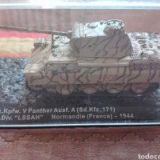 Maquetas: PZ.KPFW V PANTHER. TANQUE ALTAYA NORMANDIA 1944. Lote 175901892