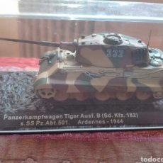 Maquetas: PANZERKAMPFWAGEN TIGER ARDENAS 1944. TANQUE ALTAYA. Lote 175901995