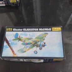Maquetas: MODELEX 1/72 GLOSTER GLADIATOR. Lote 175969490