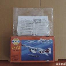 Maquetas: MAQUETA - SMER 0949 PIPER L-4 FLOATS 1/72. Lote 175978838