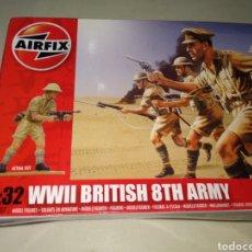Maquetas: AIRFIX 1:32 WWII BRITISH 8TH ARMY. Lote 176156209