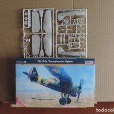 Maquetas: MAQUETA - MISTERCRAFT B-37 PZL P-7A TRANSYLVANIAN FIGHTER 1/72. Lote 209018246