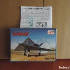Maquetas: MAQUETA - AEROPLAST A-158 YF-117A FSD SCORPION 1/72. Lote 288485148