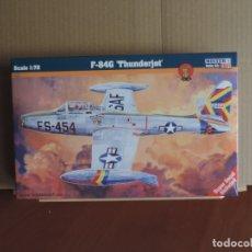 Maquetas: MAQUETA - MISTERCRAFT C-90 F-84G 'THUNDERJET' 1/72. Lote 176261367