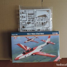 Maquetas: MAQUETA - MISTERCRAFT C-22 TS-11 WHITE & RED ISKRA 1/72. Lote 176261589