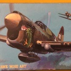 """Maquetas: P-40E WARHAWK """"NOSE ART"""" 1:72 HASEGAWA 02561 AT101 MAQUETA AVION. Lote 176281434"""