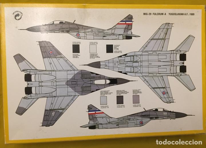 Maquetas: MIG-29 FULCRUM 1:72 ITALERI 184 maqueta avión URSS YUGOSLAVIA - Foto 3 - 176465305