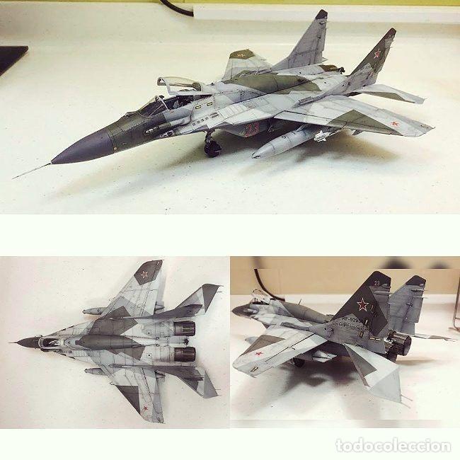 Maquetas: MIG-29 FULCRUM 1:72 ITALERI 184 maqueta avión URSS YUGOSLAVIA - Foto 15 - 176465305