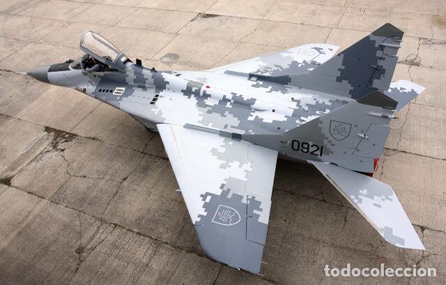 Maquetas: MIG-29 FULCRUM 1:72 ITALERI 184 maqueta avión URSS YUGOSLAVIA - Foto 23 - 176465305
