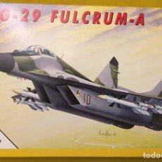 Maquetas: MIG-29 FULCRUM 1:72 ITALERI 184 MAQUETA AVIÓN URSS YUGOSLAVIA. Lote 176465305