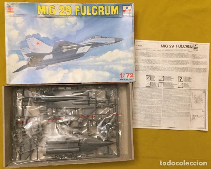 Maquetas: MIG-29 FULCRUM 1:72 ( sin calcas ) ESCI 9058 maqueta avion - Foto 2 - 176468665