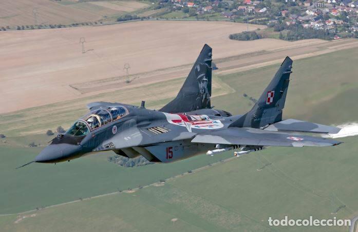 Maquetas: MIG-29 FULCRUM 1:72 ( sin calcas ) ESCI 9058 maqueta avion - Foto 3 - 176468665