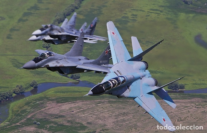 Maquetas: MIG-29 FULCRUM 1:72 ( sin calcas ) ESCI 9058 maqueta avion - Foto 5 - 176468665