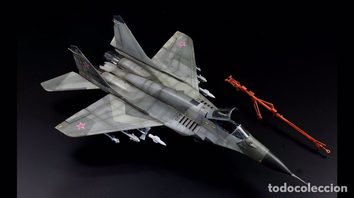 Maquetas: MIG-29 FULCRUM 1:72 ( sin calcas ) ESCI 9058 maqueta avion - Foto 9 - 176468665