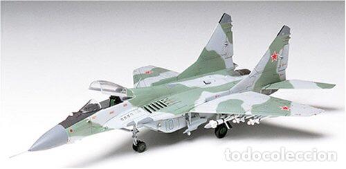 Maquetas: MIG-29 FULCRUM 1:72 ( sin calcas ) ESCI 9058 maqueta avion - Foto 10 - 176468665