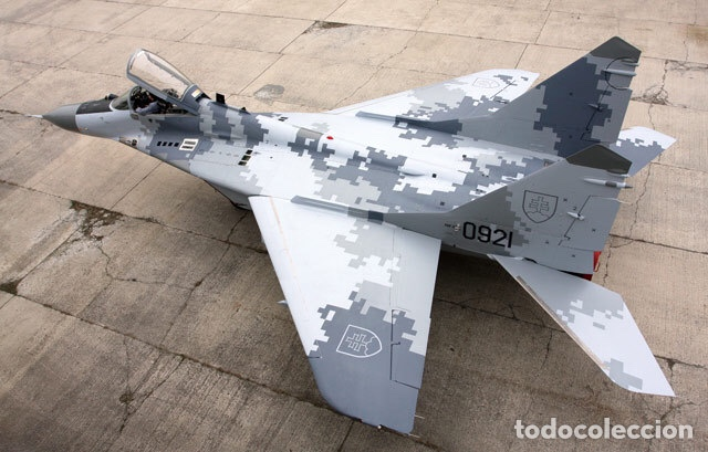 Maquetas: MIG-29 FULCRUM 1:72 ( sin calcas ) ESCI 9058 maqueta avion - Foto 12 - 176468665