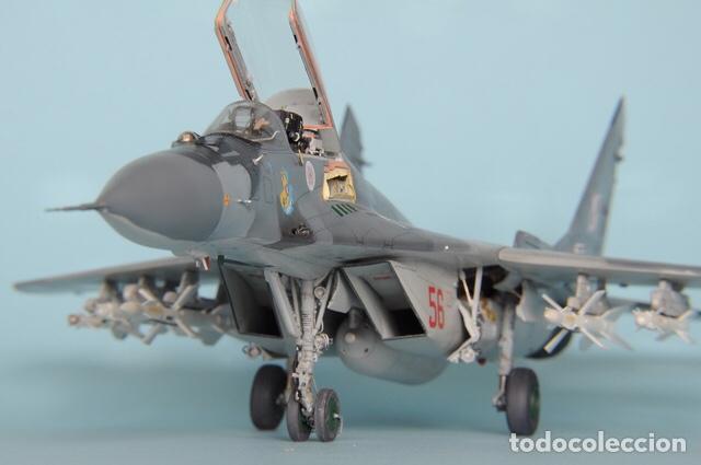 Maquetas: MIG-29 FULCRUM 1:72 ( sin calcas ) ESCI 9058 maqueta avion - Foto 13 - 176468665