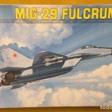 Maquetas: MIG-29 FULCRUM 1:72 ( SIN CALCAS ) ESCI 9058 MAQUETA AVION. Lote 176468665