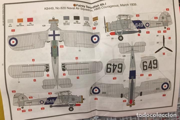 Maquetas: Fairey SWORDFISH MK.I 1:72 Maqueta avión - Foto 2 - 176487054