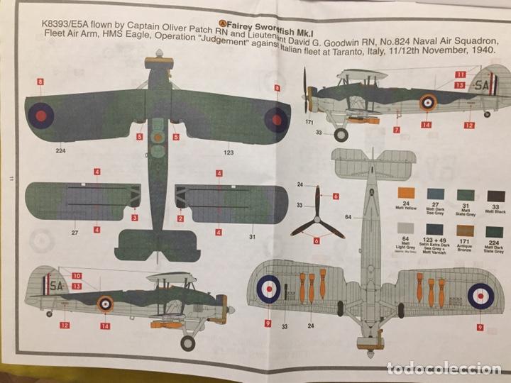 Maquetas: Fairey SWORDFISH MK.I 1:72 Maqueta avión - Foto 3 - 176487054
