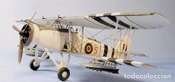 Maquetas: Fairey SWORDFISH MK.I 1:72 Maqueta avión - Foto 11 - 176487054
