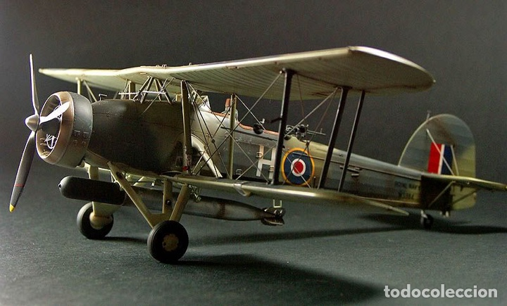 Maquetas: Fairey SWORDFISH MK.I 1:72 Maqueta avión - Foto 14 - 176487054