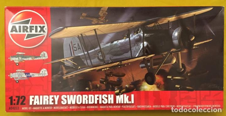 FAIREY SWORDFISH MK.I 1:72 MAQUETA AVIÓN (Juguetes - Modelismo y Radio Control - Maquetas - Aviones y Helicópteros)