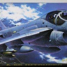 Maquetas: MAQUETA HASEGAWA A-6E INTRUDER ESCALA 1/72. Lote 176507730