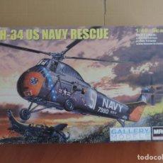Maquetas: GALLERY MODELS 64102 H-34 HELICOPTERO US NAVY 1/48. Lote 68183317