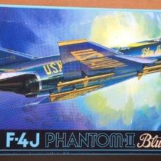 Maquetas: F-4J PHANTOM BLUE ÁNGELS 1:72 FUJIMI 722146 MAQUETA AVIÓN. Lote 176744585