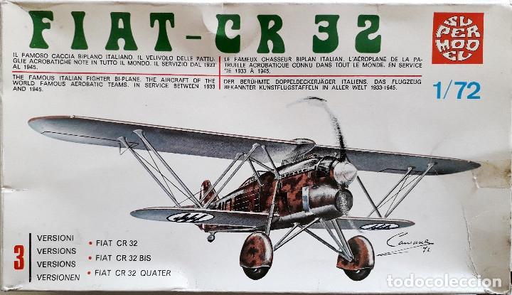 """FIAT C.R.32 """"CHIRRI"""" (SPANISH CIVIL WAR/GUERRA CIVIL) 1/72 SUPERMODEL (Juguetes - Modelismo y Radio Control - Maquetas - Aviones y Helicópteros)"""