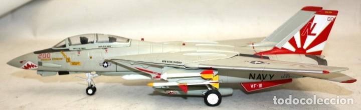 AVIÓN METALICO DE LA COLECCIÓN ARMOUR C.D.C. ESCALA 1/48. GRUMMAN F 14 TOMCAT (Juguetes - Modelismo y Radio Control - Maquetas - Aviones y Helicópteros)