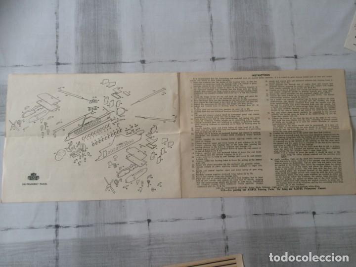 Maquetas: Airfix Instrucciones y pegatinas fairey rotodyne original años 60s - Ingles - Foto 2 - 176971344