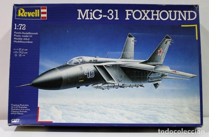 MAQUETA REVELL MIG-31 FOXHOUND ESCALA 1/72 (Juguetes - Modelismo y Radio Control - Maquetas - Aviones y Helicópteros)