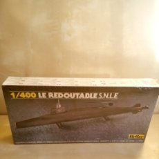 Maquettes: LE REDOUTABLE S.N.L.E. HELLER 1/400. Lote 177063142