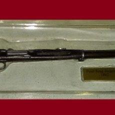 Maquetas: LOTE ARMA HISTORICA A ESCALA ED. SALVAT EN PLOMO - FUSIL KRAG-JORGENSSEN 1892. Lote 177089748