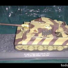 Maquetas: LOTE CARRO DE COMBATE / TANKE PANZER TIGER I EJERCITO ALEMAN 1944 - ESC 1/43 - LONG. 20X9 CM. Lote 177114914