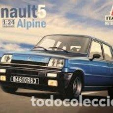 Maquetas: ITALERI - RENAULT 5 ALPINE 1/24 3651 . Lote 177291120