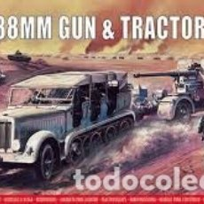 Maquetas: AIRFIX - 88MM GUN & TRACTOR 1/76 02303V. Lote 177291492
