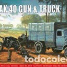 Maquetas: AIRFIX - PAK 40 GUN & TRUCK 1/76 02315V. Lote 177291743