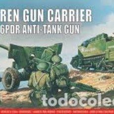 Maquetas: AIRFIX - BREN GUN CARRIER & GPDR ANTI-TANK GUN 1/76 01309V. Lote 177292605