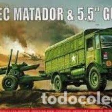 Maquetas: AIRFIX - AEC MATADOR & 5,5`` GUN 1/76 01314V. Lote 177292930