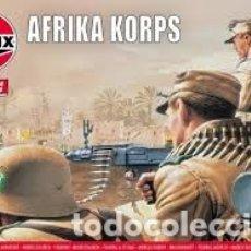 Macchiette: AIRFIX - AFRIKA KORPS 1/76 00711V. Lote 177293589